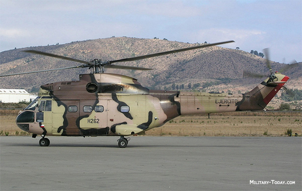 Eurocopter Super Puma helicopter