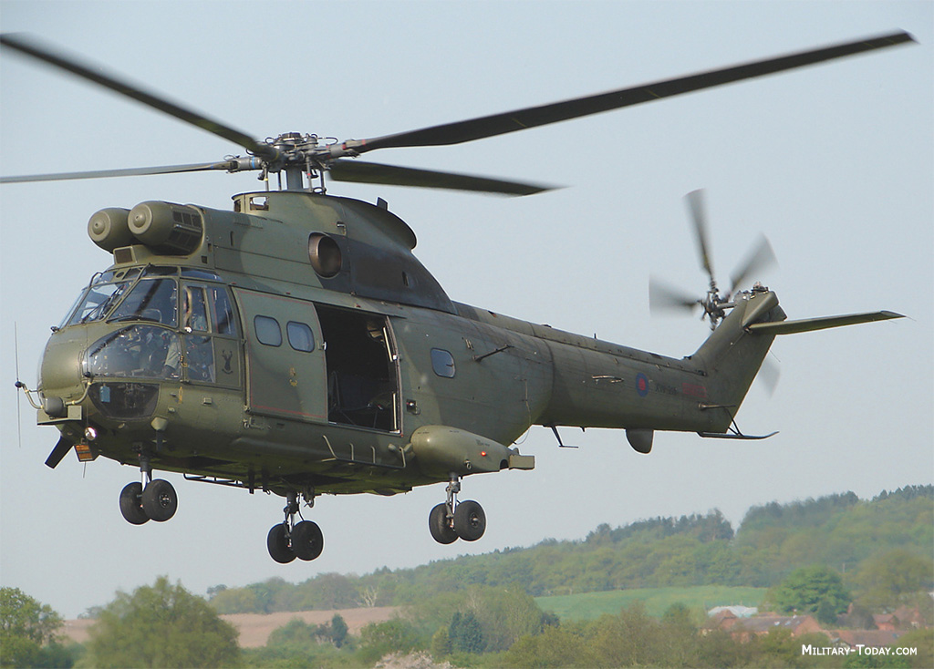 Eurocopter Puma helicopter