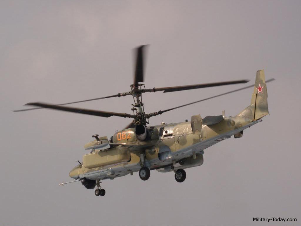 Kamov Ka-52 Alligator (Hokum-B)