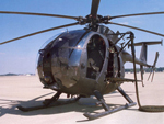 MH-6 helicopter