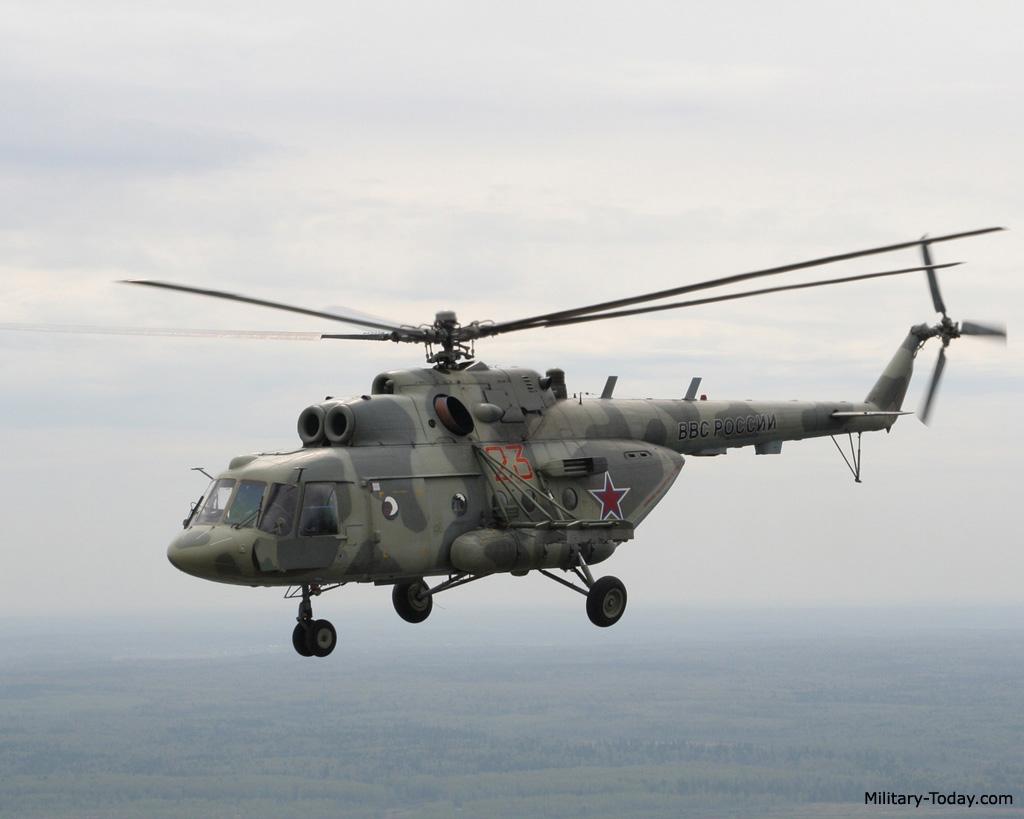 Mi-8AMTSh helicopter