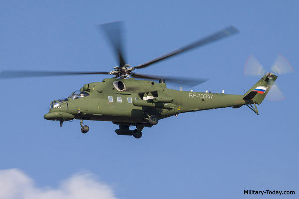 Mi-35MS helicopter