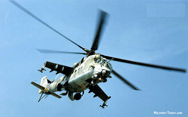 Top ten gunship helicopter