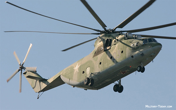 Mil Mi-26 Halo Heavy Transport Helicopter | Military-