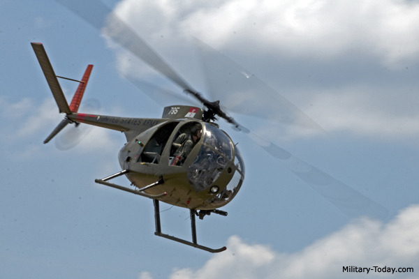 Hughes OH-6 Cayuse Light Observation Helicopter | Military