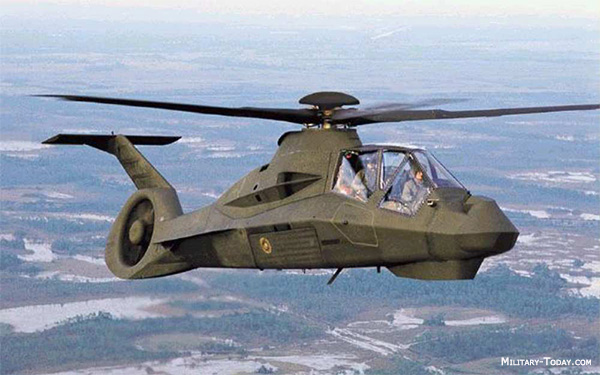 RAH-66 Comanche reconnaissance and attack helicopter was cancelled