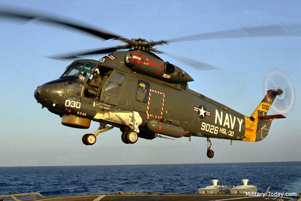 The Kaman SH 2 Seasprite Was A Versatile Naval Helicopter
