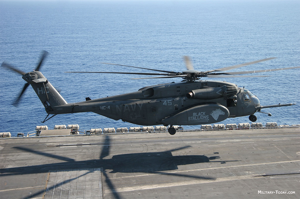 MH-53 Sea Dragon helicopter