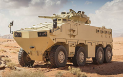 Al-Mared armored personnel carrier
