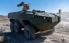 Textron Cottonmouth reconnaissance vehicle