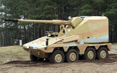 Boxer RCH 155 artillery system