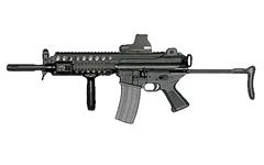 K1A compact assault rifle