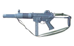 K7 silenced submachine gun