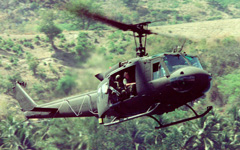 UH-1 Iroquois (Huey) helicopter