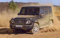 Mercedes-Benz G-class second generation