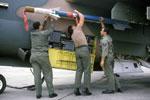 AIM-9E Sidewinder missile