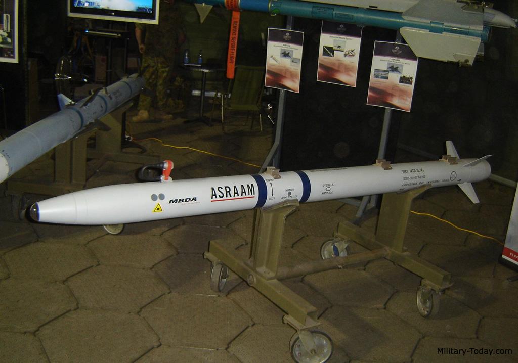 ASRAAM missile
