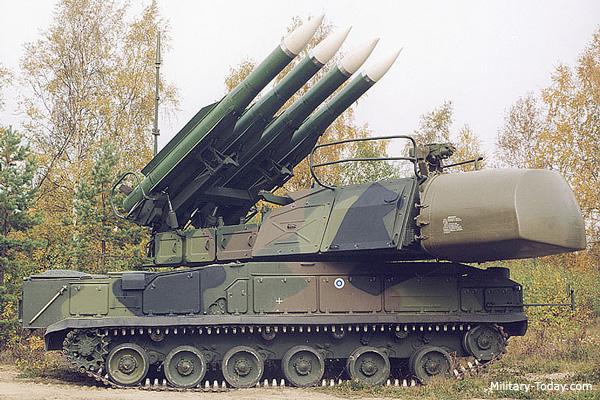 """نظام الدفاع الجوي """" بوك """" Buk"""