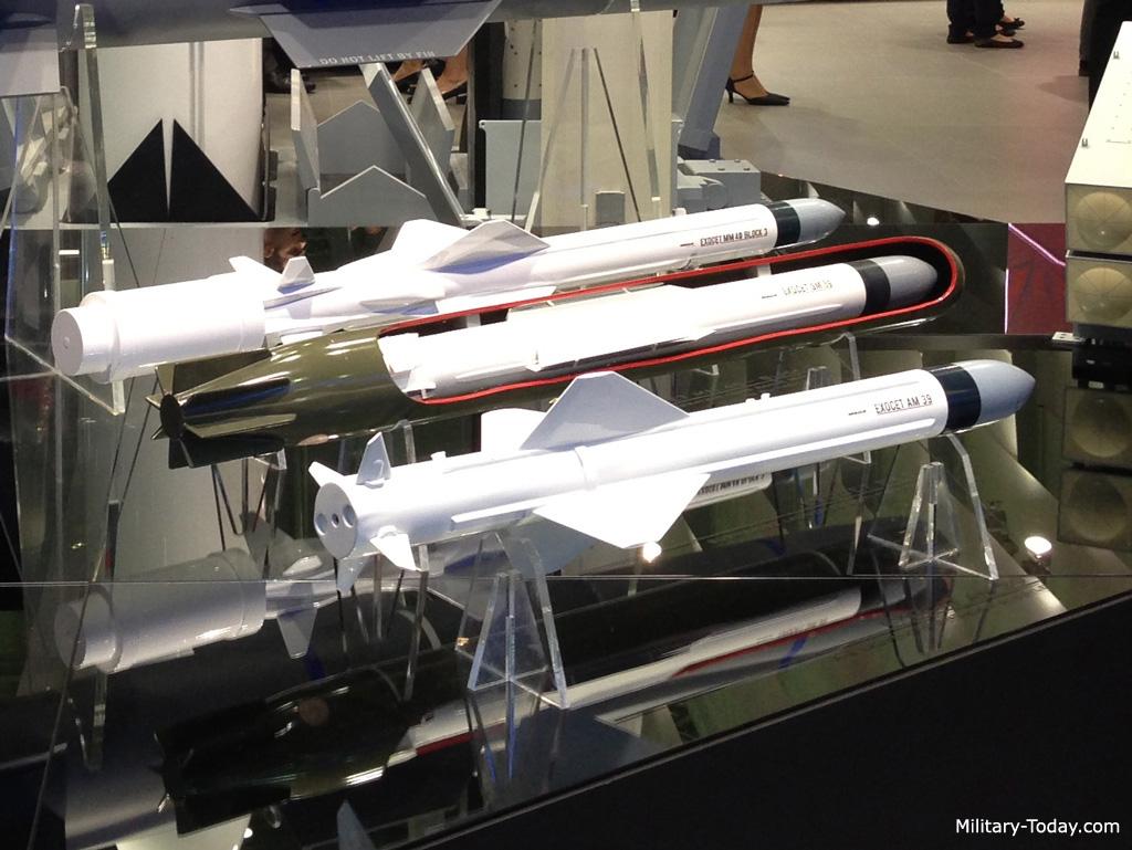 Exocet missile