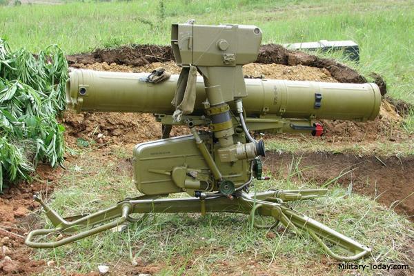 Fagot anti-tank missile