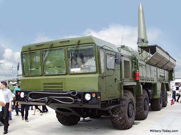 Iskander (SS-26 Stone) ballistic missile