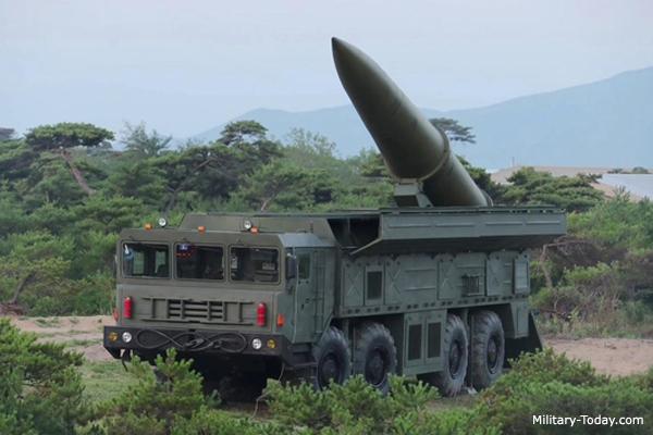 North Korean Iskander