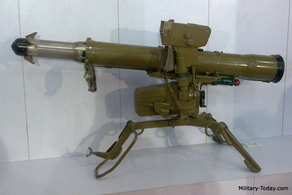 Konkurs (AT-5 Spandrel) ATGM