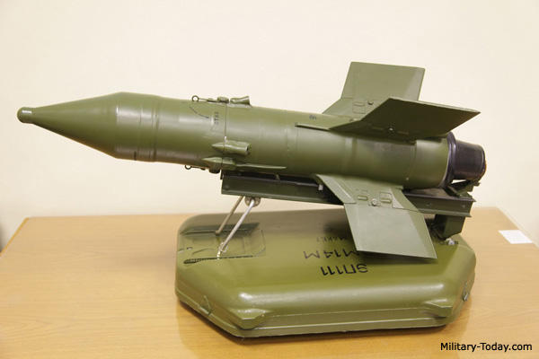 Malyutka (AT-3 Sagger) missile