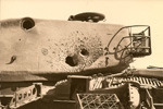 Tank hit by Malyutka (AT-3 Sagger) missiles