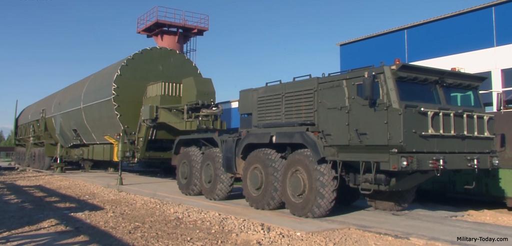 RS-28 Sarmat ICBM