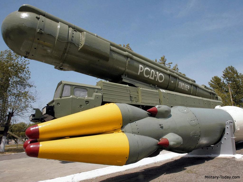 RSD-10 Pioner (SS-20 Saber) missile