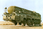 RSD-10 Pioner-3 (SS-20 Mod.3 Saber or SS-X-28 Saber) missile