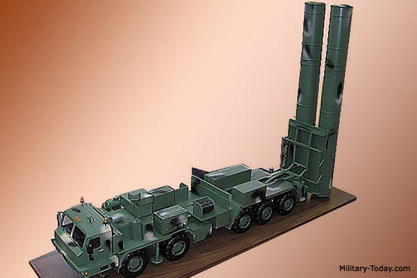 S-500 Long-Range Air Defense and Anti-Ballistic Missile