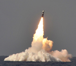 Trident 2 submarine-launched intercontinental ballistic missile