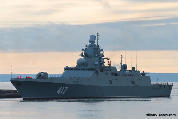 Top 10 frigates