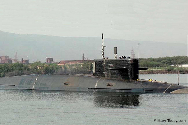 Top 10 ballistic missile submarines