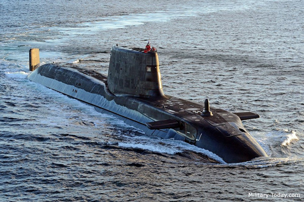 Top 10 attack submarines