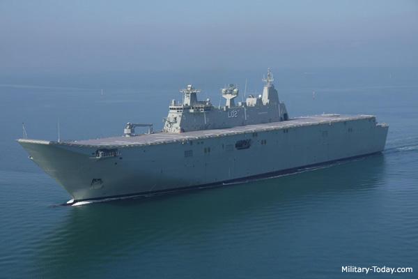 Canberra Class Amphibious Assault Ship Military Today Com