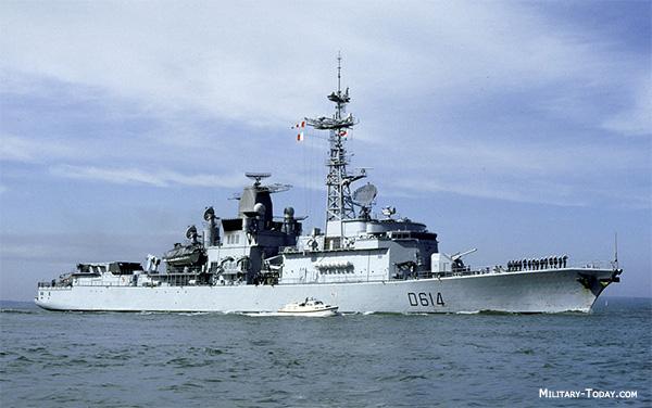 Cassard class destroyer