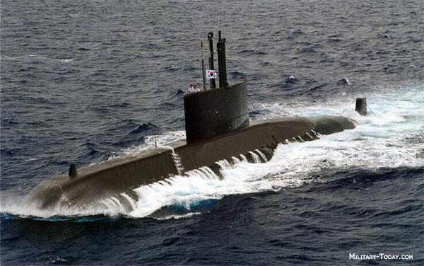 Chang Bogo class submarine