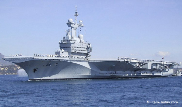 charles de gaulle class nuclear powered aircraft carrier today