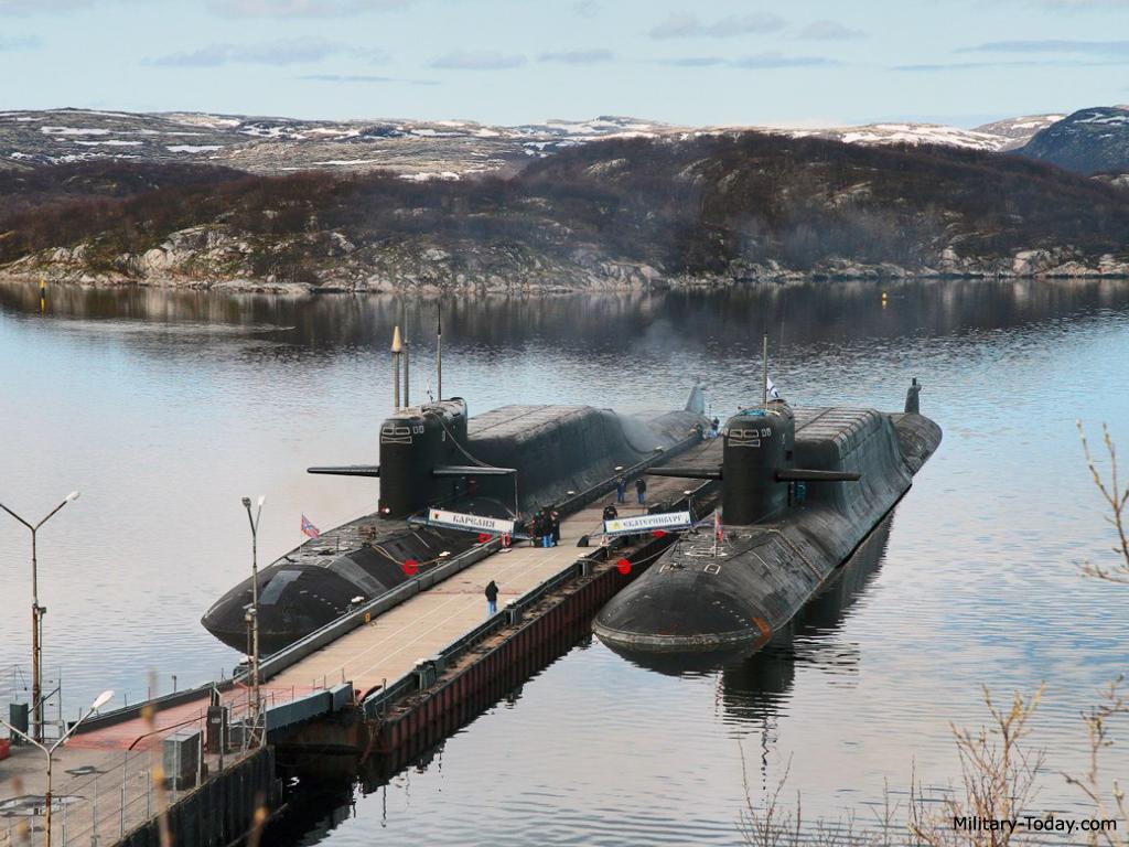 Submarino nuclear Clase Delfin (Delta IV) URSS