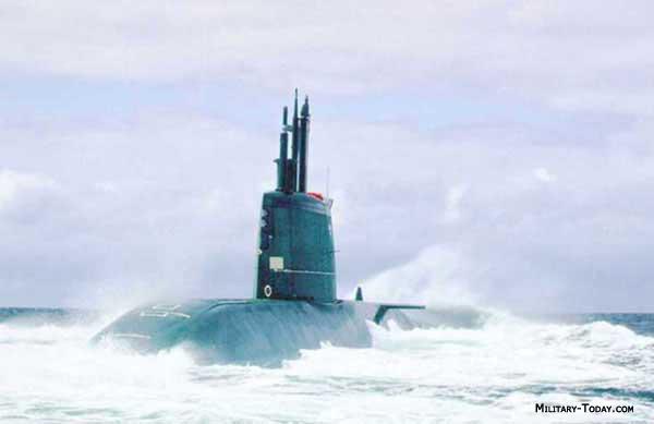 Dolphin class submarine