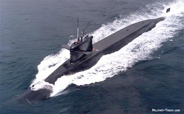 Le Redoutable class submarine