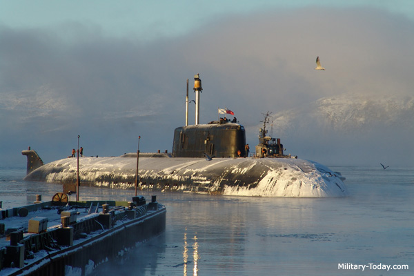 Top submarines in the world