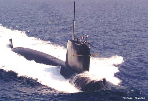 Rubis class submarine