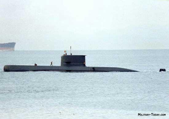 Sauro class submarine