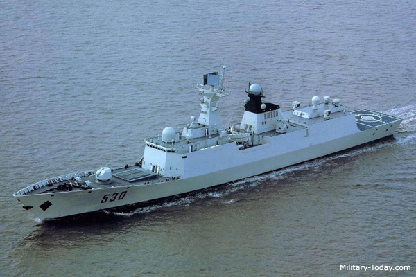 054_Type 054A class Guided missile frigate