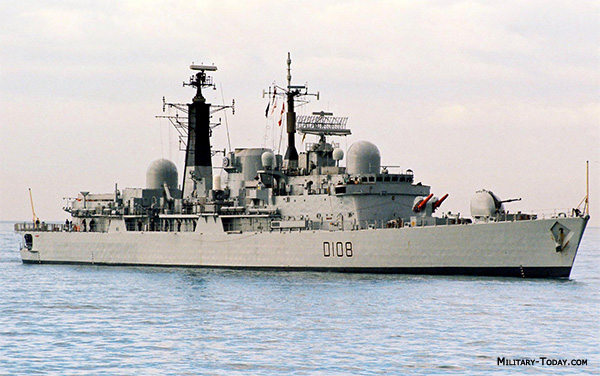 Type 42 Sheffield class destroyer