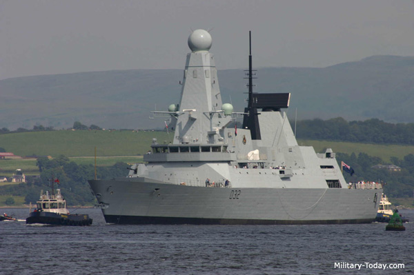 type 45 daring class destroyer military